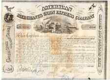 American Merchants Union Express Company  1869  Fargo Ross Knapp
