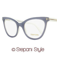 Tom Ford Cateye Eyeglasses TF5271 020 Size: 51mm Violet/Gray/White FT5271