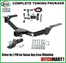 "CURT TRAILER HITCH PACKAGE FOR 2011-2014 FORD EDGE CLASS 3, 2"" TOW RECEIVER"