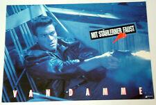 Van Damme MIT STÄHLERNER FAUST  Aushangfoto # 1  EA