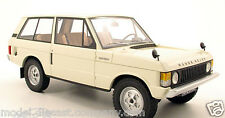 RANGE ROVER MKI 1970 1:18 BEIGE COLLECTORS RESIN CAR SUPERB VERY RARE BRAND NEW.