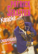 Patrick Sebastien : Karaoke - L'indispensable pour faire la fête - Best of (DVD)
