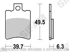 Plaquettes de frein avant  PGO Ligero 50 2008 à 2012 (S1065)