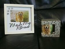 Best of Breed Me & My Retriever Picture Frame & mug set BRAND NEW BOXED