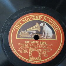 78rpm LAWRENCE TIBBETT the white dove / when i`m looking at you