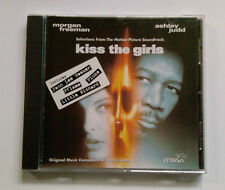 KISS THE GIRLS / SOUNDTRACK CD 1997  MORGAN FREEMAN  A.JUDD WIE NEU! LIKE NEW!