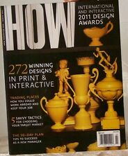 HOW Magazine 2011 Design Awards 272 Winning DESIGNS in PRINT & INTERACTIVE $15