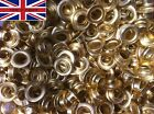 solid brass eyelets with rings pp 24 id is 3/8 or 9.53 mm