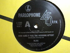 """Bliss """"How Does It Feel The Morning After?"""" Oz 7"""""""