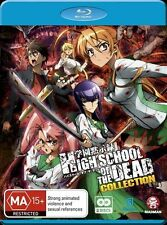 High School of the Dead Collection - Black Lagoon Blu-ray Disc NEW