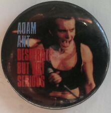 Adam Ant/ The Ants DBNS Live shot US Officially licenced 3cm enamel badge
