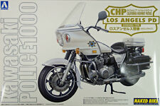 Aoshima Naked Bike 112 Kawasaki Los Angeles Police 1000 Cowling 1/12 scale FJH