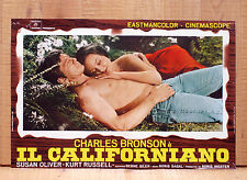 IL CALIFORNIANO fotobusta poster Guns Of Diablo Charles Bronson Russell Western