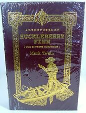 Adventures Of Huckleberry Finn Easton Press Leather 100 Greatest BookNew Sealed