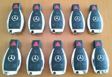 MERCEDES SMART KEYS *lot of 10* ! OEM KEYLESS GO 4 BUTTON FOB KEY REMOTE ENTRY!