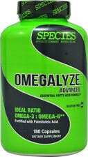 Species OMEGALYZE ADVANCED Omega-3 & 6 EPA DHA Fish Oil Recovery 180 Caps Heart