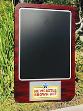 "New Castle Brown Ale Beer Bar Pub Man Cave Chalkboard ""New"""
