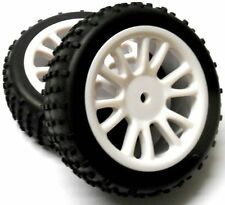 HSP Troian Buggy 85007 Front Wheels and Tyres Complete Set For 1/16 HSP Parts UK
