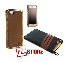 Element Case Ronin Ultra-Luxe Case for iPhone 6S / 6 Gold Leather EMT-0155