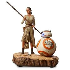 Disney Store Star Wars The Force Awakens Rey BB-8 Limited Edition Statue Figure