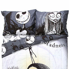 Disney The Nightmare Before Christmas Jack & Sally Soft 2 Pack Pillowcase Set
