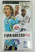 Kids PSP FIFA Soccer 09 manual case and game Free Shipping