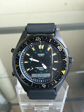 newstuffdaily: NIB CASIO AMW360B-1A1 Analog/Digital Men's Sports Watch
