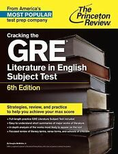Cracking the GRE Literature in English Subject Test (Princeton Review: Cracking