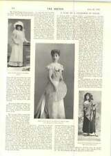 1899 Miss Pattie Browne Mr Jc Williamson Blanche Lawson Isabel Sefton