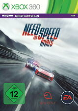 Need for Speed: rival para Xbox 360 * bueno * (con embalaje original)