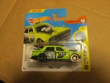 HOT WHEELS 2017 92/365 CITY WORKS 4/10 TIME ATTAXI NEW ON CARD