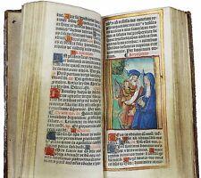 LIVRE D'HEURES de 1507 sur peau de vélin