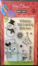 "Hero Arts Poly Clear Stamps ""Snow Much Fun"" *New*"