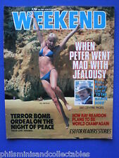 Weekend Magazine - Peter Bowles, Ray Reardon, Oliver Tobias    24th June 1981