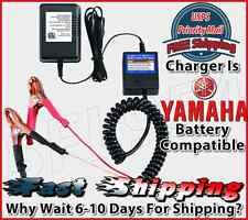 Yamaha Motorcycle ATV Scooter 12V Battery Smart Charger Maintainer Tender Float