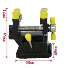 Mini Aluminium Alloy Engraving Table Bench Vise Clamp With Suction Cup Fine