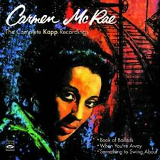 Carmen McRae: THE COMPLETE KAPP RECORDINGS (3 LPS ON 2 CDS)