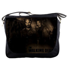 The Walking Dead Rick Daryl Mens Girls Messenger Bag Shoulder School Notebook