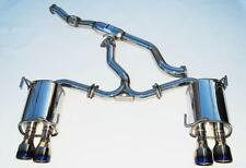Invidia Q300 Dual Exhaust System Burnt Tip 11-14 Impreza WRX STi 4dr Saloon - UK