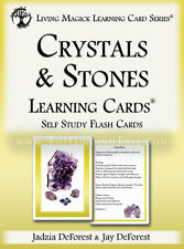 Crystals & Stones Flash Cards - Living Magick Learning Card Series