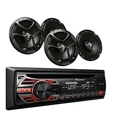 Car Audio Package Speakers With Remote Stereo Radio Cd Mp3 Receiver System Pione