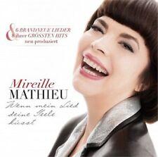 MIREILLE MATHIEU - WENN MEIN LIED DEINE SEELE KÜSST  CD 14 TRACKS SCHLAGER NEU