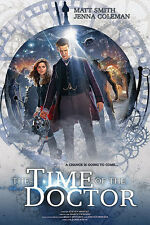 NEW Dr Doctor Who - Time of the Doctor BBC Wall Poster -Matt Smith Jenna Coleman