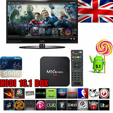 UK MXQ Pro S905 KODI 17.0 Jailbroken Unlocked Fully Loaded Android 5.1 TV Box