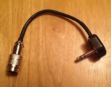 Kenwood 8 Pin Mic Jack to Drake Radios with S230 5.2mm TRS Microphone Plug