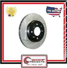 StopTech Front - Right Side Sport Slotted Brake Rotor 2007-2013 Mazda 3