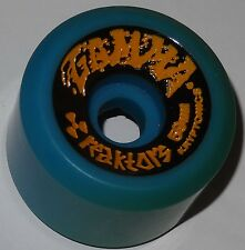 KRYPTONIC Gamma Reaktors 59mm 92a Skateboard Wheels Blue - 80s Old School - NOS