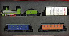 RIVAROSSI R 0315 Blüemlisalp Set locomotiva a vapore + 2 carri GB Nuovo OVP RARE
