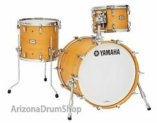 Yamaha Absolute Hybrid Maple BE BOP Drum Shell Set - NATURAL - 18x14-12x8-14x13