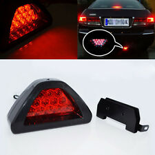 Universal F1 style 12 LED Red Rear Tail Third Brake Stop Light Safety Fog Lamp